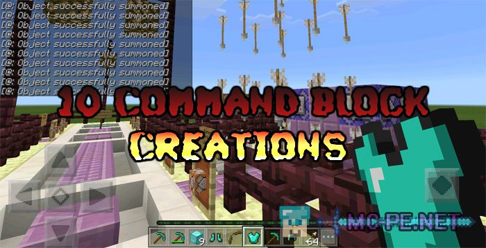 10 Command Block Creations