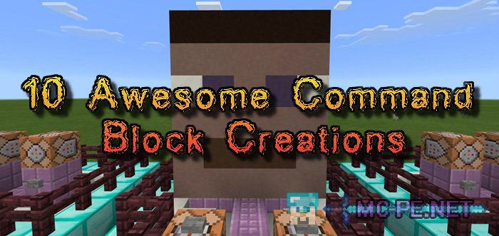 10 Awesome Command Block Creations