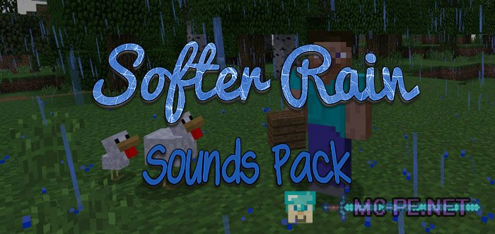 Softer Rain Sounds Pack