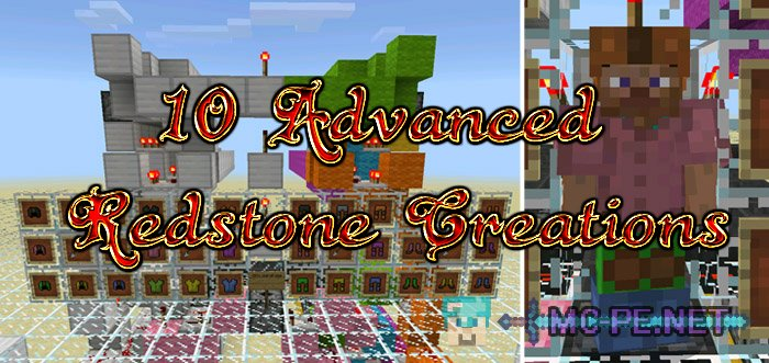 10 Advanced Redstone Creations