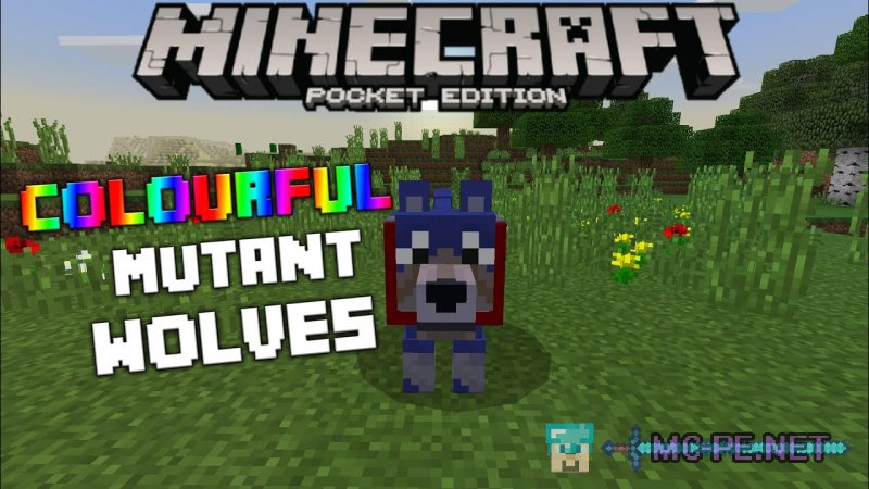 Colorful Mutant Wolves