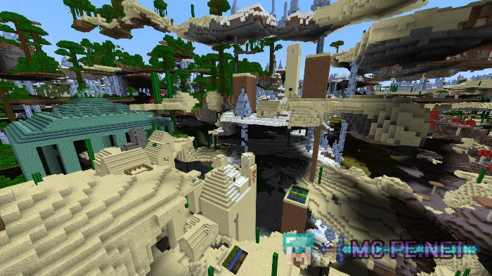 Ultra Amplified Survival World [1 2 8] › Maps › MCPE