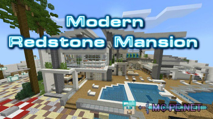 Modern Redstone Mansion