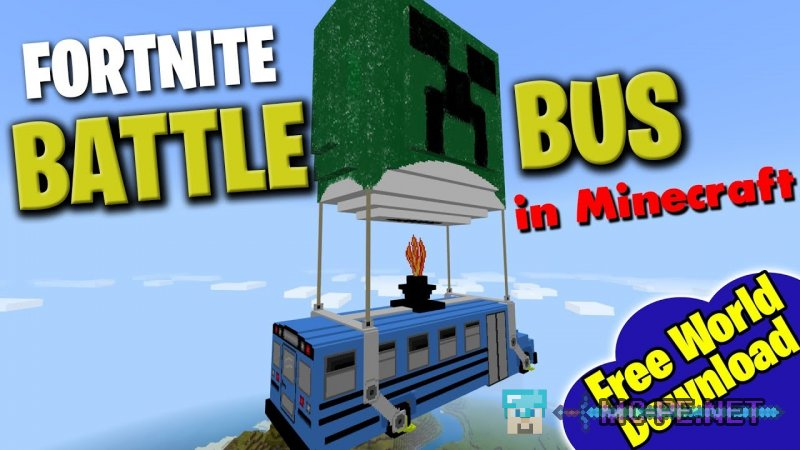 Fortnite Battle Bus Add-on